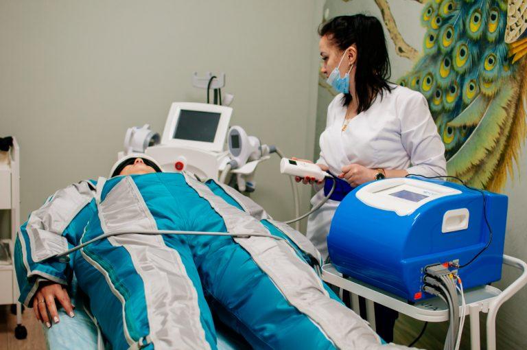 Прессотерапия с инфракрасным излучением